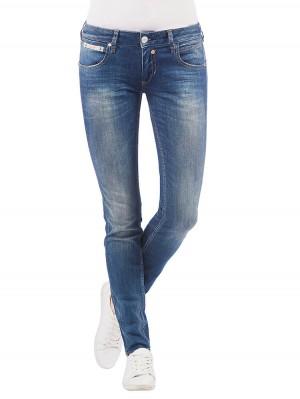 Herrlicher Touch Slim Denim Stretch Jeans mittelblau vorne