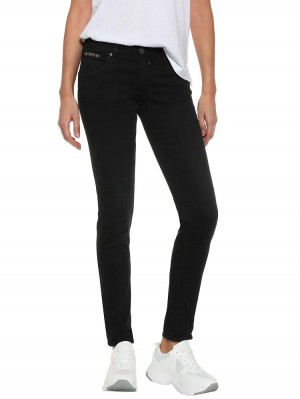 Herrlicher Touch Slim Black Stretch Jeans