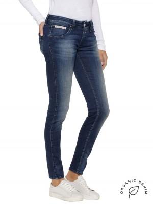 Herrlicher Touch Slim Jeans mit Bio-Baumwolle