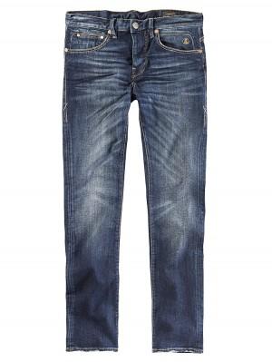 Herrlicher Tyler Tapered Denim Comfort Plus Jeans dunkelblau