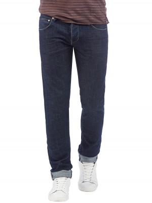 Herrlicher Tyler Tapered Herren Stretch Jeans dunkelblau vorne