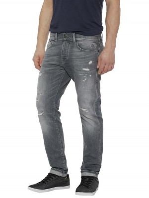 Herrlicher Tyler Tapered Black Stretch Jeans