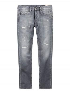 Herrlicher Tyler Tapered Black Stretch Jeans