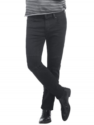 Herrlicher Trevor Denim Black Stretch Jeans vorne