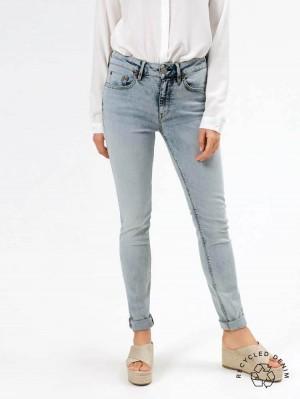 Herrlicher Super G Slim Jeans mit recycelter Baumwolle