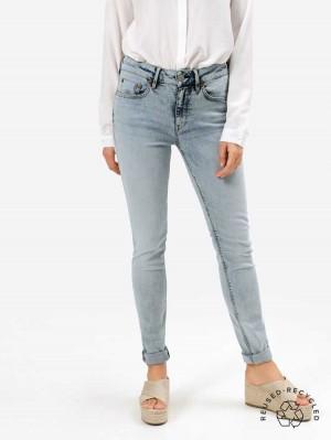 Herrlicher Super G Slim Jeans aus Reused Denim