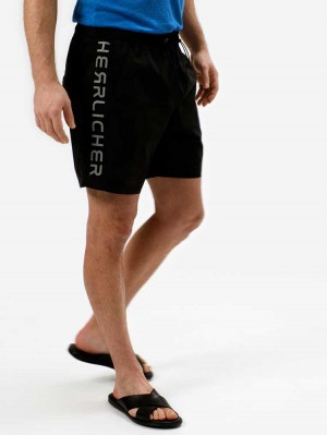 Herrlicher Zoom Shorts mit Camouflage Muster