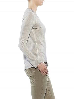 Herrlicher Alisma Plain Cotton Feinstrickpullover