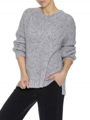 Herrlicher Nellina Glitzer Woll-Mix Pullover