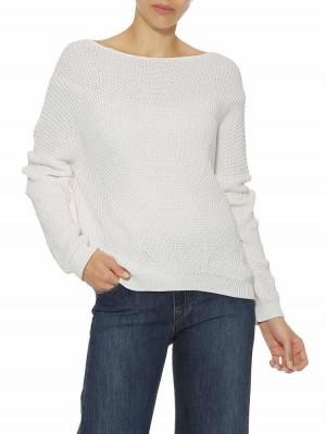Herrlicher Arianne Baumwoll-Pullover mit Struktur