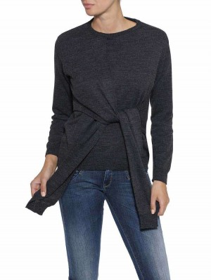 Herrlicher Floriane Wollmix-Pullover