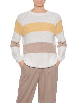 Herrlicher Jilien Pullover mit Colourblock-Streifen