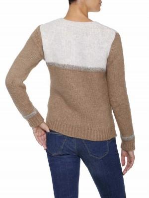 Herrlicher Isalie Wollmix-Pullover mit Glitzer