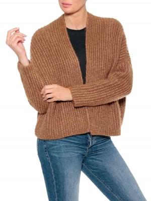 Herrlicher Alissa Strickjacke mit Wool-Touch