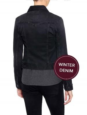 Herrlicher Joplin Winter Jeansjacke Black