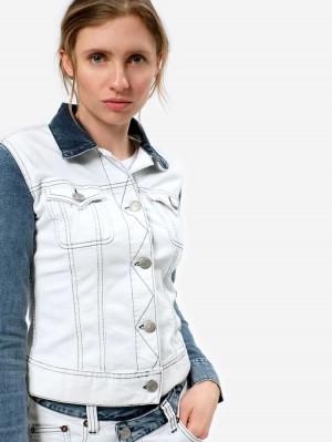 Herrlicher Joplin Jeansjacke aus Patchwork Denim