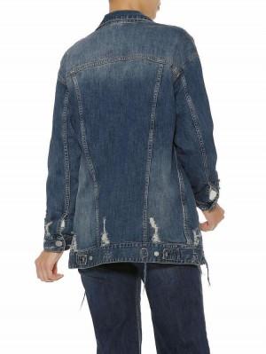 Herrlicher Page Stretch Jeansjacke lang