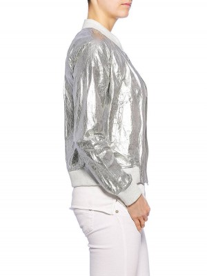 Herrlicher Caline Metallic Jacke