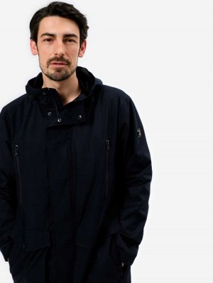 Herrlicher Ceifer Männer Mantel aus Nylon