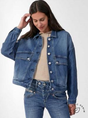 Herrlicher Jody Oversized Jeansjacke aus Bio-Baumwolle