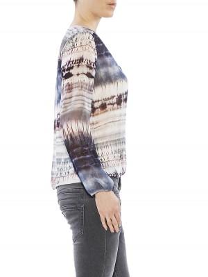 Herrlicher Leana Printed Chiffon Bluse