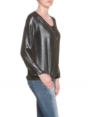 Herrlicher Leana Chiffon Glam Bluse