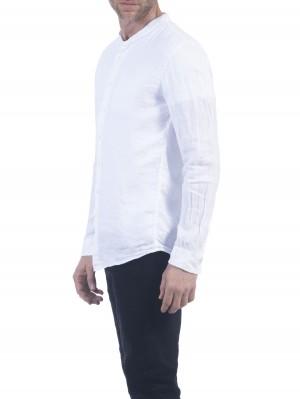 Herrlicher Ethan Linen Uni Hemd