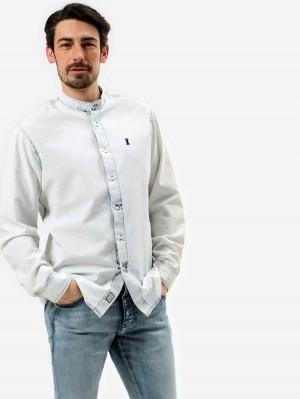 Herrlicher Ethan Chambray Hemd im Jeanslook
