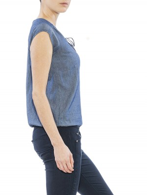 Herrlicher Tulia Ultra light Denim Top