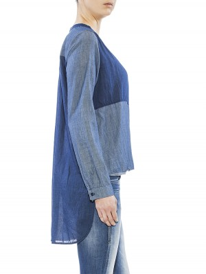Herrlicher Philine Ultra light Denim Bluse