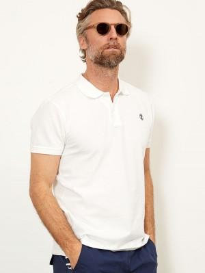 Herrlicher Score Poloshirt aus Piqué