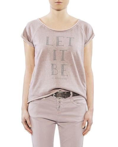 Herrlicher Bellina Sweat Shirt rosa vorne