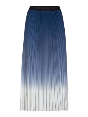ania plisseerock blau mit farbverlauf