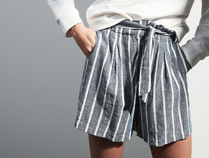 3a48eb6179054 Damen Shorts   Caprihosen